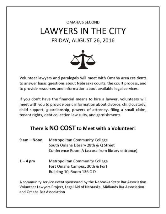 Lawyers in the City Flyer Aug 26 2016